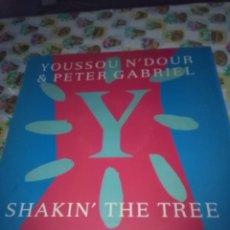 Discos de vinilo: YOUSSOU N´DOUR & PETER GABRIEL. SHAKIN´THE TREE. C12V. Lote 90724420