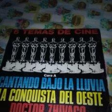 Discos de vinilo: 6 TEMAS DE CINE. CANTANDO BAJO LA LLUVIA. MB2. Lote 90726180