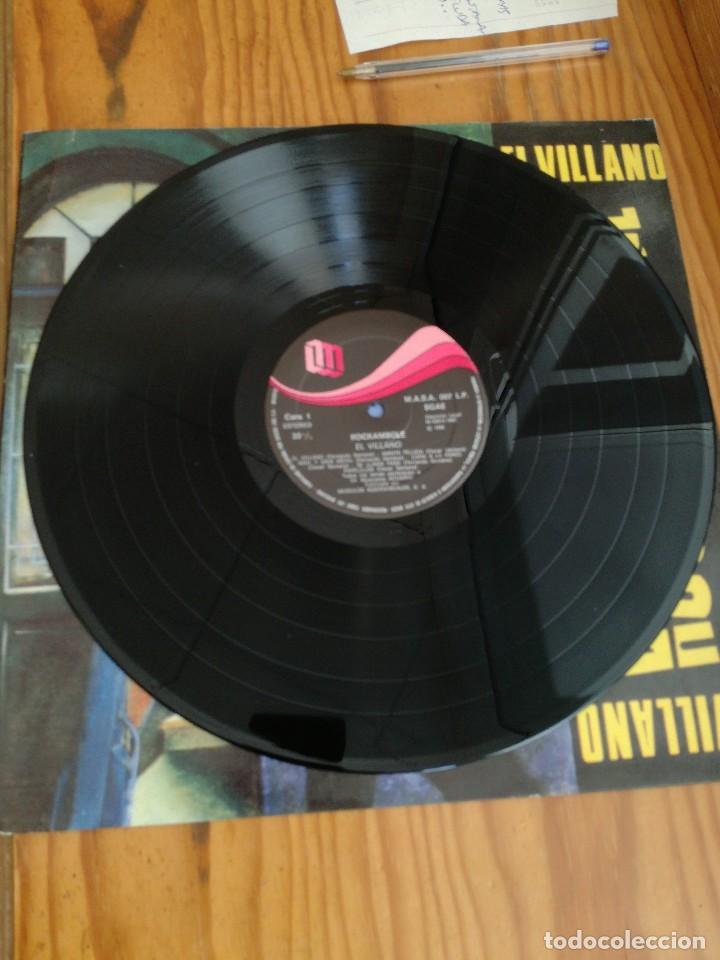 Discos de vinilo: ROCKAMBOLE LP-1986 TEMAS DE OSCAR Y FERNANDO SANTANA-LA MANTA PELUDA+EL VILLANO+OTRAS. - Foto 4 - 90732340