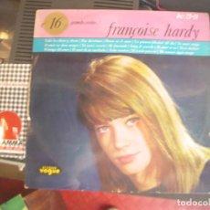 Discos de vinilo: FRANCOISE HARDY- 16 GRANDES EXITOS! RARO. Lote 90735080