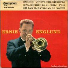 Discos de vinilo: ERNIE ENGLUND – PAIS DE LAS MARAVILLAS DE NOCHE - EP SPAIN 1961- DISCOPHON 17138. Lote 90750645