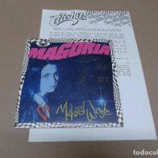 Discos de vinilo: MAGORIA (SN) MUTOID WASTE AÑO 1990 – PROMOCIONAL + HOJA PROMOCIONAL. Lote 90790320