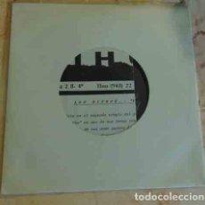 Disques de vinyle: LOS BICHOS - VERANO MUERTO - SINGLE PROMO 1989. Lote 90798690