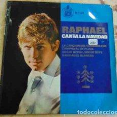 Discos de vinilo: RAPHAEL - CANTA LA NAVIDAD - EP 1965. Lote 90802830