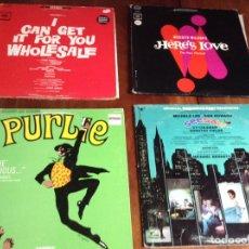 Discos de vinilo: LOTE DE 4 LP VINILOS MUSICALES. Lote 90831114