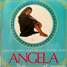 Discos de vinilo: ANGELA - PUEDO MORIR MAÑANA + 3 - EDICION ESPAÑOLA - EKIPO-D-2 DEL AÑO 1970. Lote 90847940