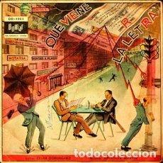 Discos de vinilo: ORQUESTA LOS TROVADORES- QUÉ VIENE LA LETRA! (DOMAR DO-1003, EP, 1961) JOAO MARINO, J. Lote 90858710
