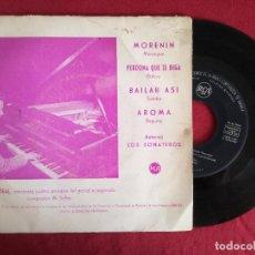 Discos de vinilo: ANGEL TEAL, MORENIN + 3 (RCA 1960) EP SINGLE PROMOCIONAL ESPAÑA - MAESTRO SELLES. Lote 90866105