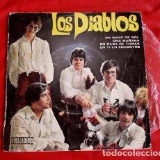 Discos de vinilo: LOS DIABLOS (EP. 1970) ED. ESPECIAL CIRCULO LECTORES - UN RAYO DE SOL -EN CASA DE TOMAS-UNA MAÑANA. Lote 90887660