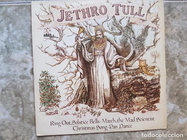 JETHRO TULL - RING OUT, SOLSTICE BELLS..+3 (Música - Discos de Vinilo - EPs - Pop - Rock Internacional de los 70)
