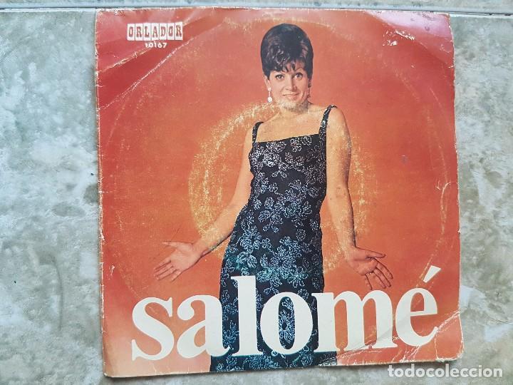 SALOMÉ - AMIGOS, AMIGOS ..+3 (Música - Discos de Vinilo - EPs - Solistas Españoles de los 50 y 60)