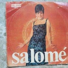 Discos de vinilo: SALOMÉ - AMIGOS, AMIGOS ..+3. Lote 90897895