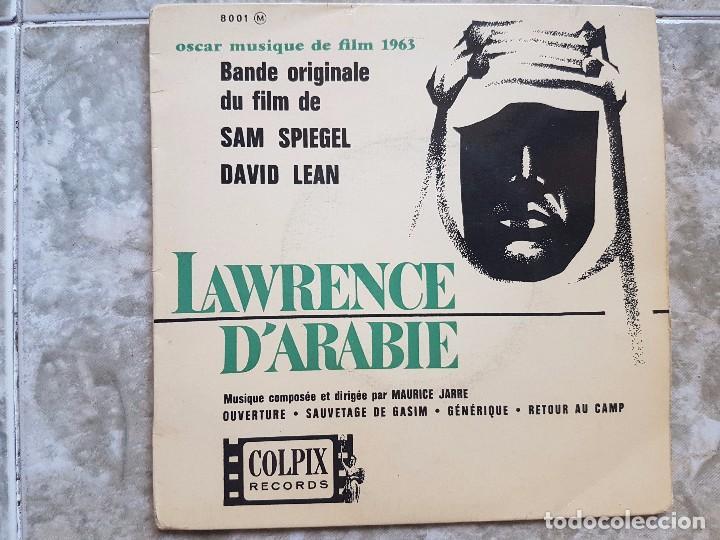 LAWRENCE D'ARABIE (Música - Discos de Vinilo - EPs - Bandas Sonoras y Actores)