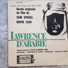 Discos de vinilo: LAWRENCE D'ARABIE . Lote 90898590