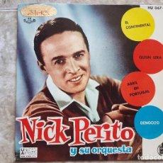 Discos de vinilo: NICK PERITO Y SU ORQUESTA. Lote 90899450