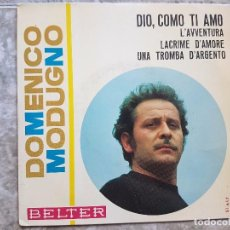 Discos de vinilo: DOMENICO MODUGNO - DIO, COMO TI AMO. Lote 90900295