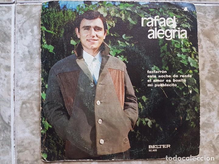 RAFAEL ALEGRIA - FANFARRÓN ..+3 (Música - Discos de Vinilo - EPs - Flamenco, Canción española y Cuplé)
