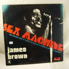 Discos de vinilo: JAMES BROWN - SEX MACHINE - POYDOR SPAIN 1984 STEREO 23 91 129. Lote 90900705