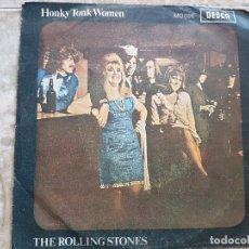 Disques de vinyle: THE ROLLING STONES - HONKY TONK WOMEN. Lote 90901570