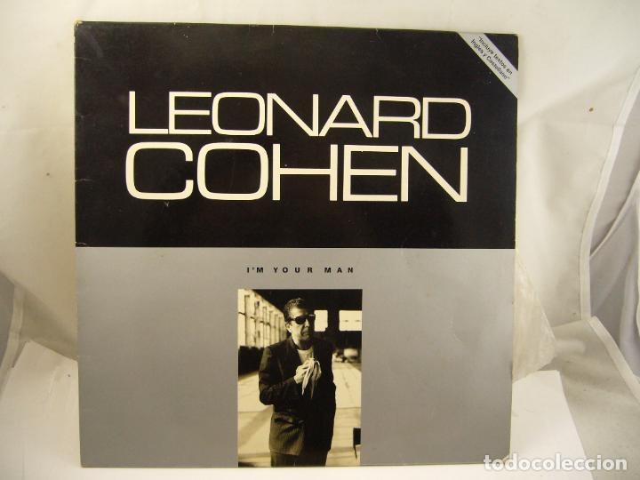 LEONARD COHEN - I´M YOUR MAN - GRATEST HITS (Música - Discos de Vinilo - Maxi Singles - Pop - Rock Extranjero de los 70)