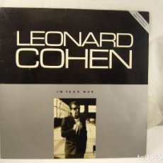Discos de vinilo: LEONARD COHEN - I´M YOUR MAN - GRATEST HITS. Lote 90901660