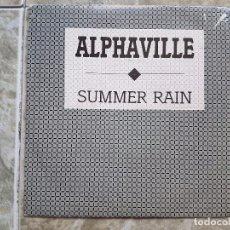 Discos de vinilo: ALPHAVILLE - SUMMER RAIN. Lote 90902465