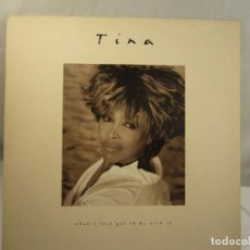 Disques de vinyle: LP TINA TURNER-WHAT'S LOVE GOT TO DO WITH IT. Lote 90914200