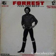 Discos de vinilo: FORREST - FEEL THE NEED . MAXI SINGLE . 1983 ARIOLA GERMANY. Lote 30183543