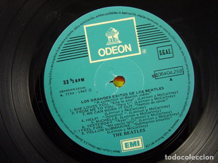 Discos de vinilo: THE BEATLES ------ A COLLECTION OF BEATLES OLDIES - Foto 4 - 90915170