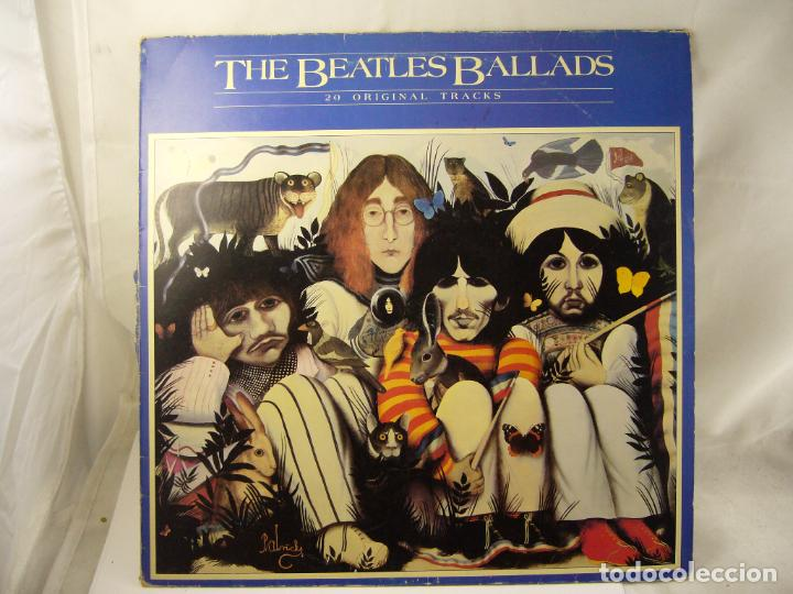 THE BEATLES BALLADS 20 ORIGINAL TRACKS 1980 (Música - Discos de Vinilo - Maxi Singles - Pop - Rock Extranjero de los 50 y 60)