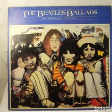 Discos de vinilo: THE BEATLES BALLADS 20 ORIGINAL TRACKS 1980. Lote 188466556