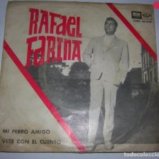 Discos de vinilo: RAFAEL FARINA,ODEÓN, 1964. Lote 90918835