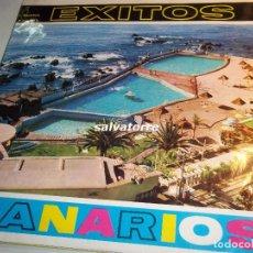 Discos de vinilo: EXITOS CANARIOS.FOLKLORE ISLAS CANARIAS.AÑO 1963. DIFICIL.. Lote 90924370