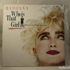 Discos de vinilo: LP - WHO'S THAT GIRL - MADONNA AND OTHERS (SPAIN, SIRE RECORDS 1987). Lote 90951305