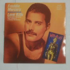 Discos de vinilo: FREDDIE MERCURY. LOVE KILLS. EXTENDED VERSION. PELICULA METROPOLIS. MAXI SINGLE. TDKLP. Lote 90957575