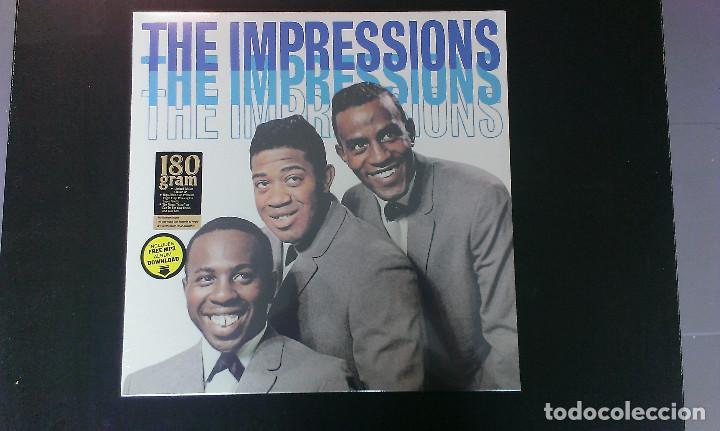 LP THE IMPRESSIONS THE IMPRESSIONS POP SOUL DOO WOP (Música - Discos - LP Vinilo - Pop - Rock Extranjero de los 50 y 60)