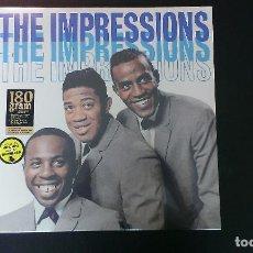 Discos de vinilo: LP THE IMPRESSIONS THE IMPRESSIONS POP SOUL DOO WOP. Lote 93256600