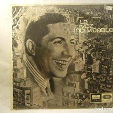 Discos de vinilo: CARLOS GARDEL - LA VOZ INOLVIDABLE - EDICIÓN DE 1965 DE ESPAÑA. Lote 90998815