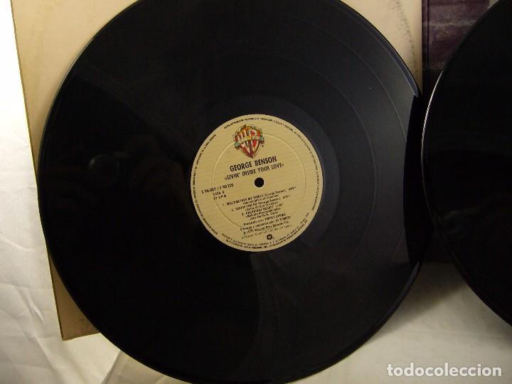 Discos de vinilo: LP VINILO GEORGE BENSON - LIVIN INSIDE YOUR LOVE 2 LPS - Foto 4 - 90999975