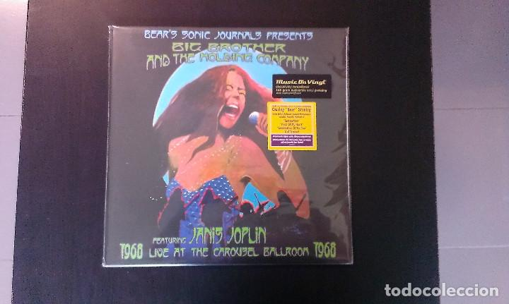 DOBLE LP BIG BROTHER AND THE HOLDING COMPANY JANIS JOPLIN LIVE AT THE CAROUSEL BALLROOM 1968 BLUES (Música - Discos - LP Vinilo - Pop - Rock Extranjero de los 50 y 60)