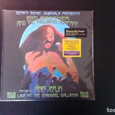 Discos de vinilo: DOBLE LP BIG BROTHER AND THE HOLDING COMPANY JANIS JOPLIN LIVE AT THE CAROUSEL BALLROOM 1968 BLUES. Lote 91001475