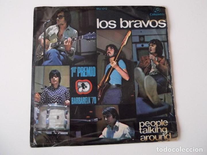 LOS BRAVOS - PEOPLE TALKING AROUND (Música - Discos - Singles Vinilo - Grupos Españoles de los 70 y 80)