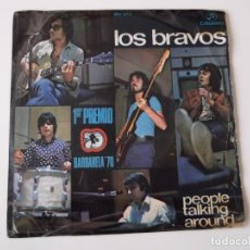 Discos de vinilo: LOS BRAVOS - PEOPLE TALKING AROUND. Lote 91012020