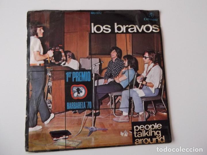 Discos de vinilo: LOS BRAVOS - People talking around - Foto 2 - 91012020