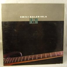 Discos de vinilo: EMILI BALERIOLA, DILEMA, EX GUITARRA DE MÁQUINA, HOJA INTERIOR CON DISCOGRAFIA. Lote 91139475