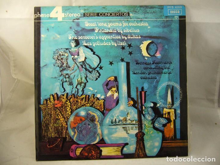 PHASE 4 STEREO SERIE CONCIERTOS (Música - Discos de Vinilo - Maxi Singles - Clásica, Ópera, Zarzuela y Marchas)