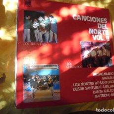 Discos de vinilo: CANCIONES DEL NORTE. VOL. 2. LOS XEY, LOS IRUÑA-KO, LOS CHIMBEROS. CAUDAL 1976.. Lote 91152705
