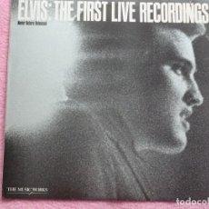 Discos de vinilo: ELVIS PRESLEY,THE FIRST LIVE RECORDINGS RECDICION USA DEL 82. Lote 91229275