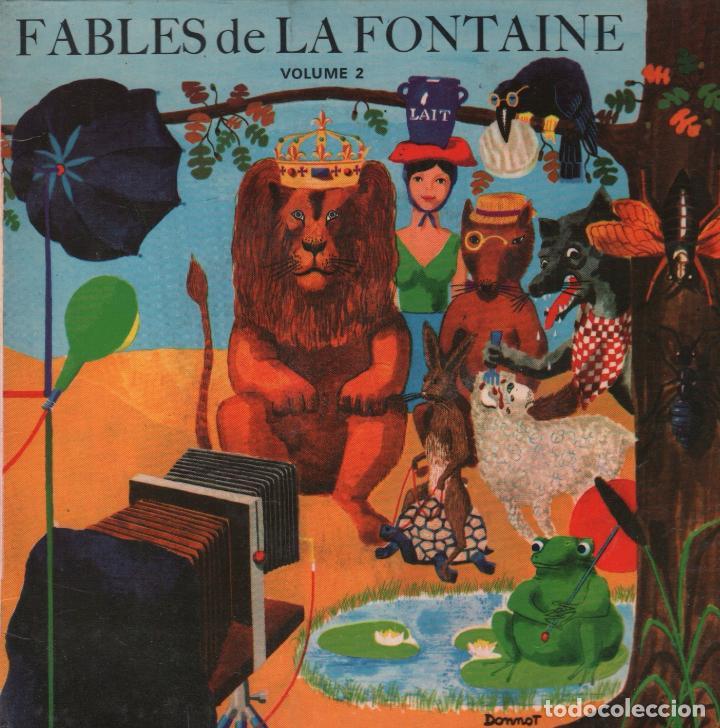FABLES DE LA FONTAINE VOLUME 2 / EP LE PETIT POUCET / RF-2704 (Música - Discos de Vinilo - EPs - Música Infantil)