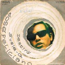 Discos de vinilo: JOSE FELICIANO - DESTINY - SUSIE Q, SINGLE EDITADO POR EL SELLO RCA EN 1970. Lote 91235028